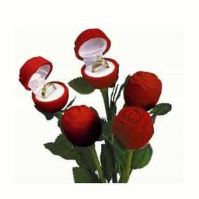 Caixinha De Jóias Lindíssima Estilo Rosa Vermelha