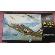Mustang P51 A Maquete Aviao Plastimodelismo 1/48