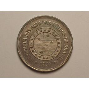 Soberba) Raro No Estado) 100 Rs.1897 República (linda Peça)