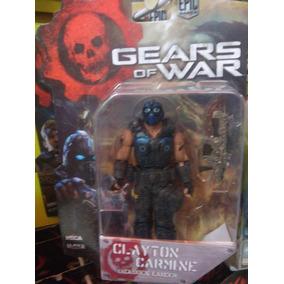 Clayton Carmine Del Video Juego Gears Of War De 10 Cm