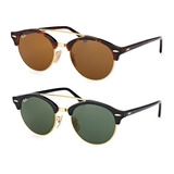 Ray Ban Clubround Double Bridge Rb4346 Made In Italy