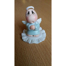 10 Souvenirs Angelito En Porcelana Fria