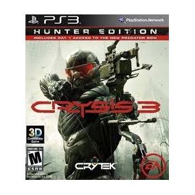 Jogo Lançamento Crysis 3 Hunter Edition Para Playstation 3