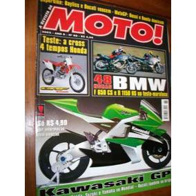 Revista Da Moto 88 Abril 2002 Bmw F650 R 1150 Rs Crf 450r