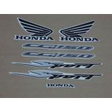 Kit Adesivos Honda Cg Titan 150 Sport 2007 Prata 10134