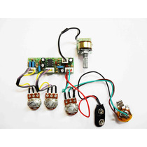 Kit Pré-amplificador Circuito Ativo P/ Contra Baixo(g/a/v/b)