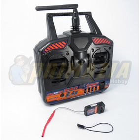Rádio Hobbyking 2.4ghz 4ch Canais Hk-t4a V2 Aeromodelo Drone