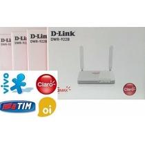 Modem Roteador 3g 4g D-link Chip Antena Externa Desbloqueado