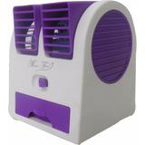 Mini Ventilador Climatizador Com Agua Portátil Ar Usb Calor