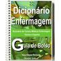 Dicionário Enfermagem Termos Médicos Técnicos - Frete 3,90