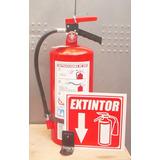 Extintor 4.5 Kgs. -nuevo-polvo Químico Seco