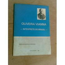 Livro - Oliveira Vianna - Geraldo Bezerra De Menezes