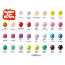 400 Balões São Roque Balão Imperial Nº 7 *atacaco/varejo*