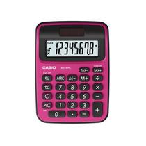 Calculadora De Mesa Fucsia, 8 Dígitos Ms-6nc-brd