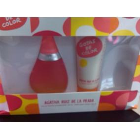 Perfume Original De Dama Gotas De Color Set De 100 Ml
