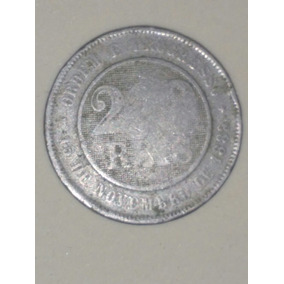Moeda Numismática 200 Réis 1889