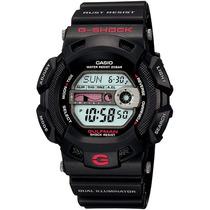 Casio G Shock G-9100-1dr Gulfman Preto Maré Lua Anti