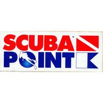 Adesivo Raro - Surf Scuba Point - Anos 80 - 18,5 X 7,5