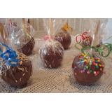 Kit - Maçãs Do Amor E Maçãs Com Chocolate - R$ 184,00