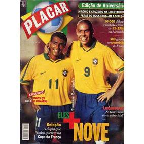 Revista Placar 1126 - Ronaldo, Romário - Espec. Aniversário