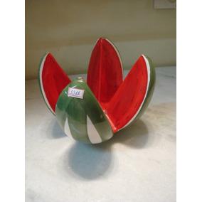 #3316# Fruteira Porcelana Melancia Antiga!!!