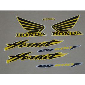Kit Adesivos Honda Hornet Cb 600f 2006 Amarela 10059