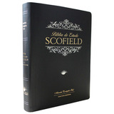 Bíblia De Estudo Scofield Almeida Corrigida Fiel Luxo Preta