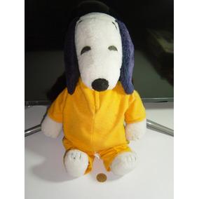 Juguete Antiguo Peluche Snoopy 1958 Original De Colección