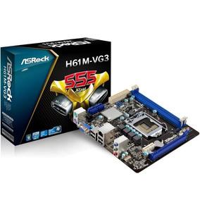Tarjeta Madre H61 M 1155/ddr3/1600 Intel Micro Atx Pcie Sata