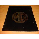 Folder Raro Mg Mgb 1975 Toda A Linha -- Ingles