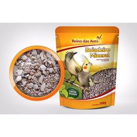 Boiadeiro Mineral 500g Reino Das Aves Calopsita Trinca Ferro