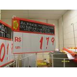 Tabela De Preço -açougue-padaria- Lanchonete -supermercados