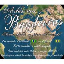 Adesivos Bandeiras De Países E Estados Brasileiros