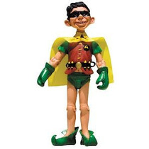 Mad: Alfred E. Neuman Robin Dc Collectibles Action Figures