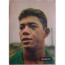 Pôsters Revista Sétimo Céu Anos 60 - Amarildo.