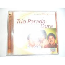 Cd Nacional Duplo - Trio Parada Dura - Série Bis