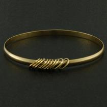 Nelcy´s Pulseira Argolas Em Ouro 18k Com Elos Ref 1920