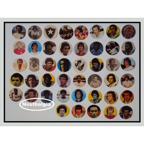 Carinhas De Jogadores - Futebol De Botão - Anos 70 - F(208)
