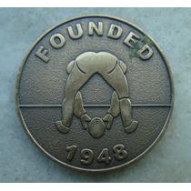 Medalha Usa Founded 1948 - Futebol Americano Bronze 39mm