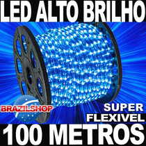 Mangueira Luminosa Led Várias Cores C/ Garantia Rolo 100 Mts
