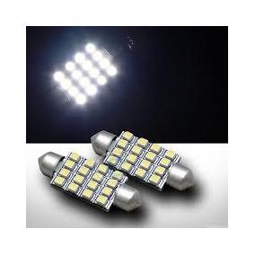 Lampada Torpedo 16 Leds Super Branco Teto Frete Econômico