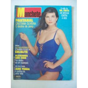 Revista Manchete - Dr.fritz,cristiana Oliveira,jane Fonda 90