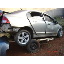 Honda New Civic 2007*2008 Sucata De Leilao