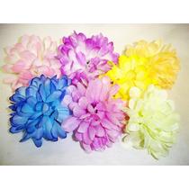 60 Crisântemos Artificiais - Artificial Atacado Flores Flor
