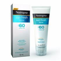 Protetor Solar Neutrogena Facial Fps 60 Sun Fresh 50ml