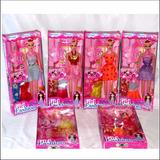 Muñeca Barbies Con Vestido Girls Fashion Series