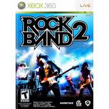 Rock Band 2 Xbox 360 Fisico (no Digital) Original Rockband 2
