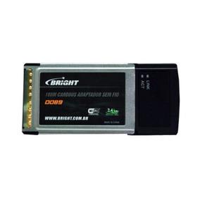 Bright 0089 108m Cardbus Adaptador Sem Fio Pcmcia Wifi