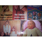 5 Revistas Tejido Tu Tricot. Tamaño Poster! Todas Las Edades