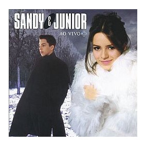 Cd Sandy E Junior - Quatro Estacoes Ao Vivo (usado-otimo)